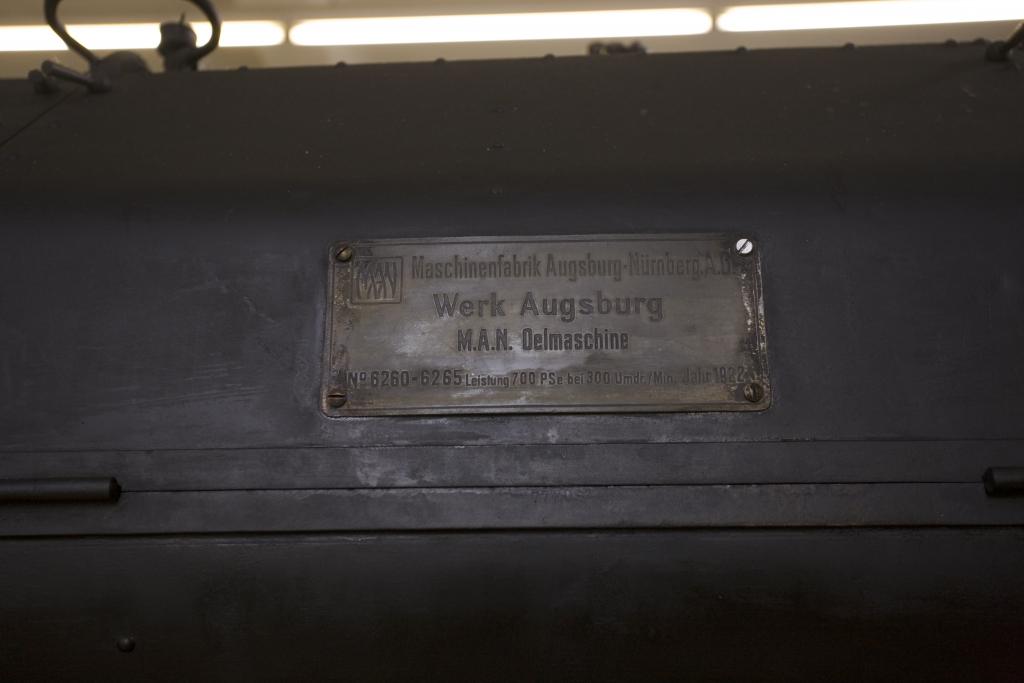 Elektrozentrale MAN Dieselmotor