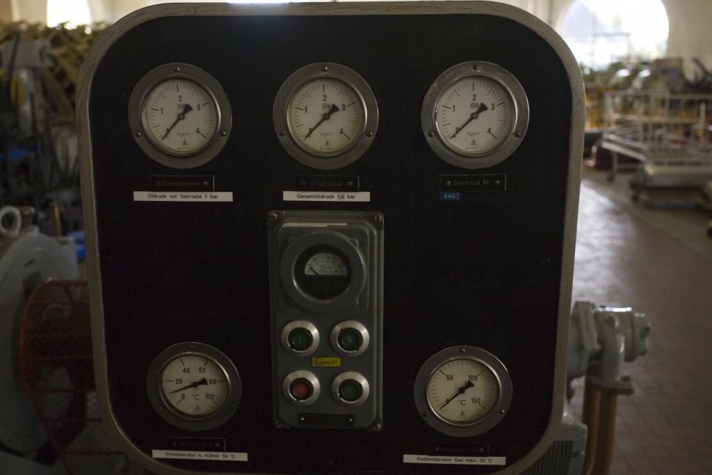 Instrumententafel Apparatehaus