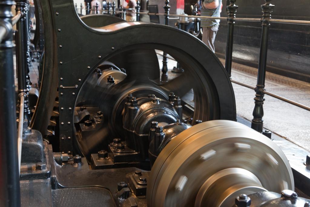 Historisches Wasserwerk Augsburg Antriebswelle