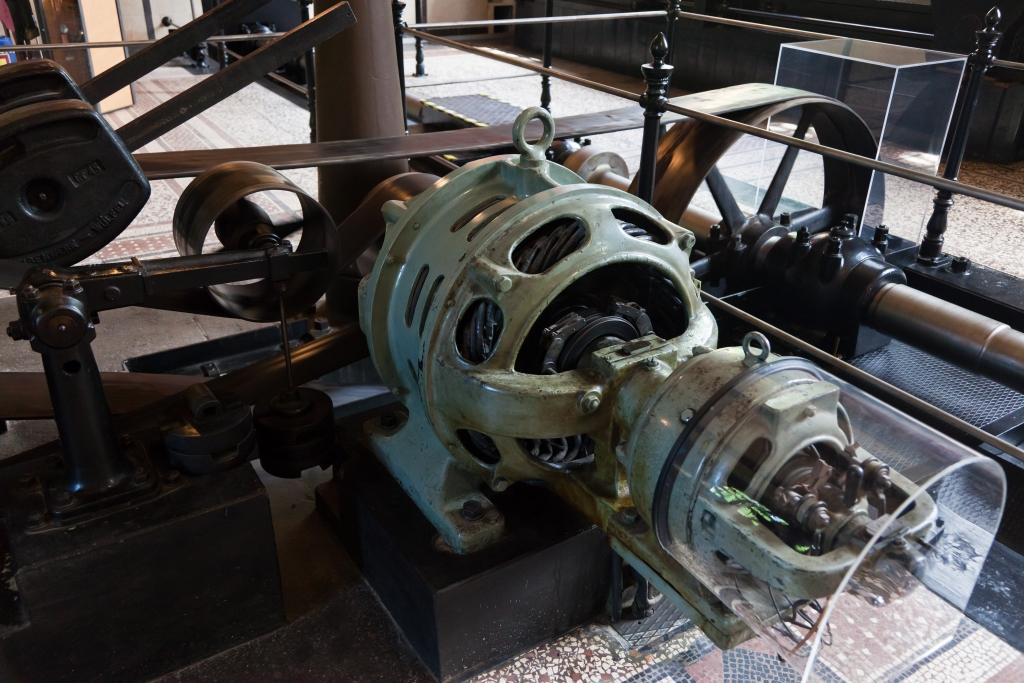 Historisches Wasserwerk Augsburg Elektroanlage