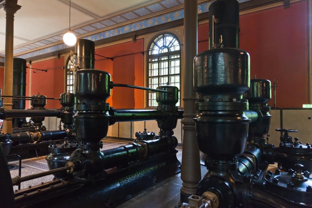 Historisches Wasserwerk Augsburg Wasserpumpe