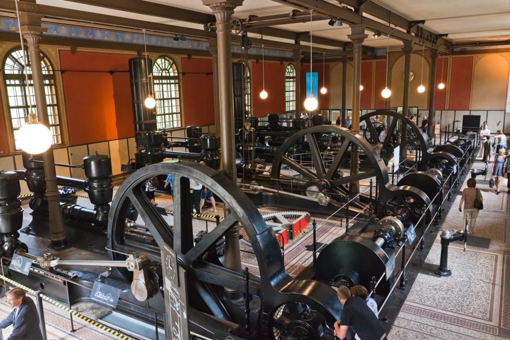 Historisches Wasserwerk Augsburg Pumpensätze