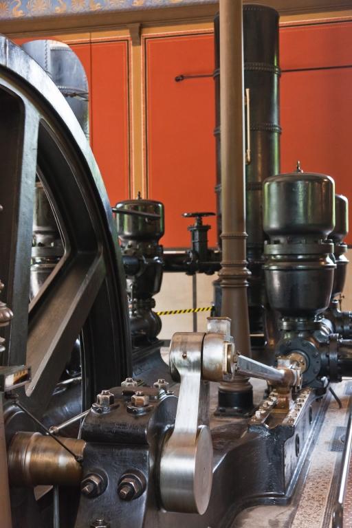 Historisches Wasserwerk Augsburg  Wasserpumpe Antriebspleuel
