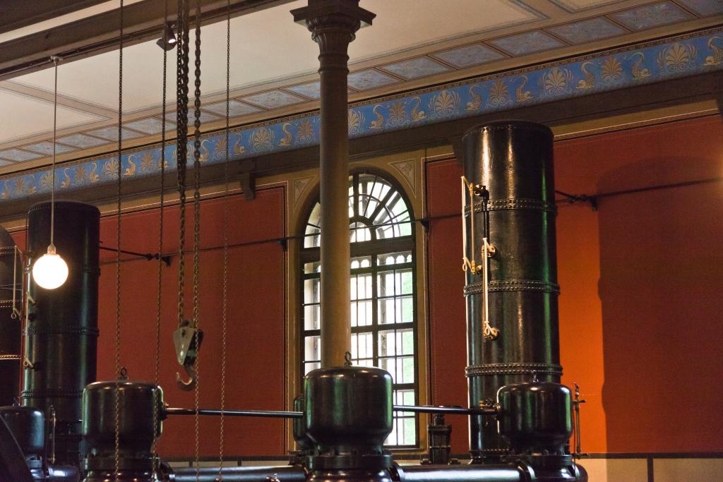 Pumpen historisches Wasserwerk