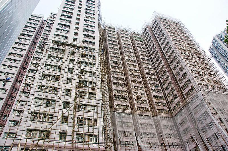 Gerüstbau Hongkong