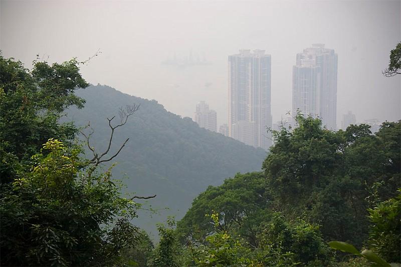 Hongkong blick vom Victoria Peak