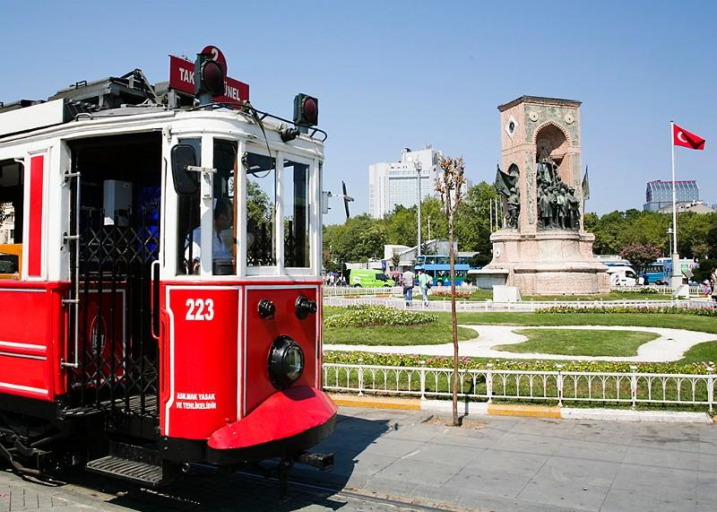 Istanbul Taksim Platz