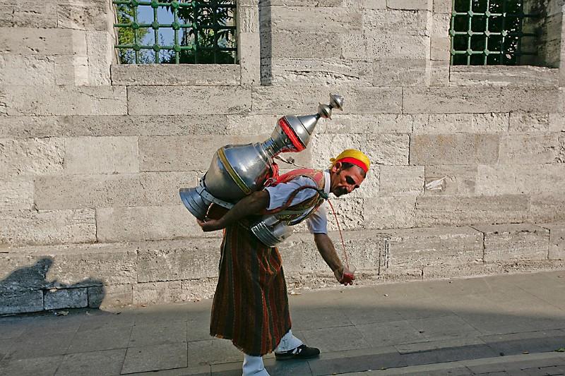 Istanbul Saftverkäufer
