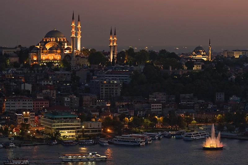 Istanbul Blick vom Galata Turm