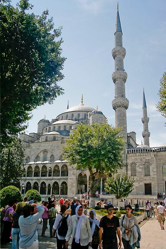 Istanbul blaue Moschee