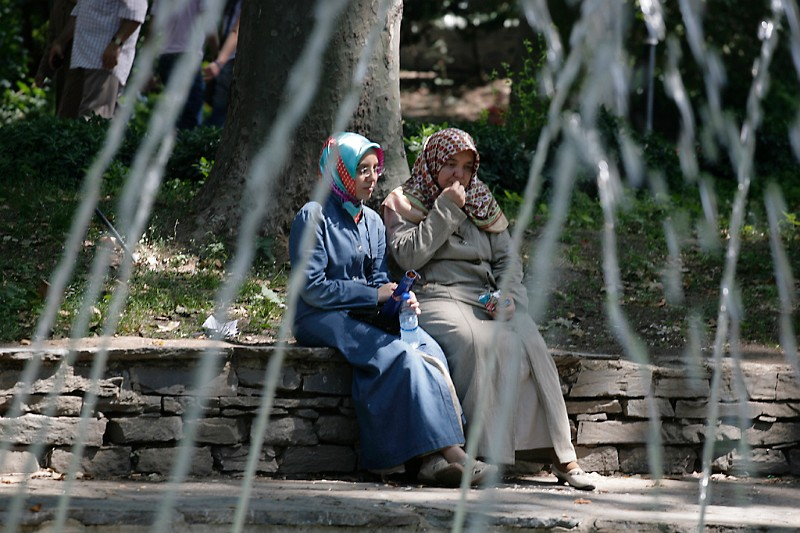 Istanbul Frauen im Gülhane Park