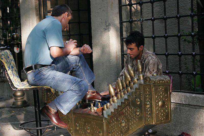 Istanbul Schuhputzer