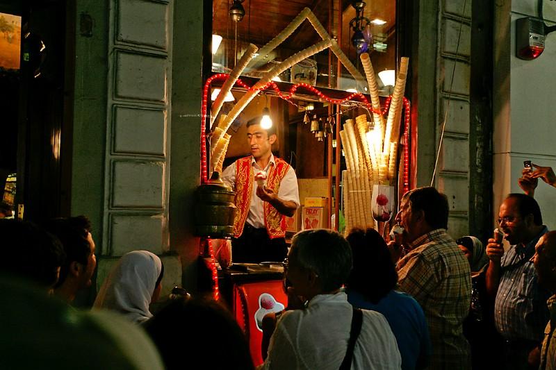 Istanbul Eisverkäufer
