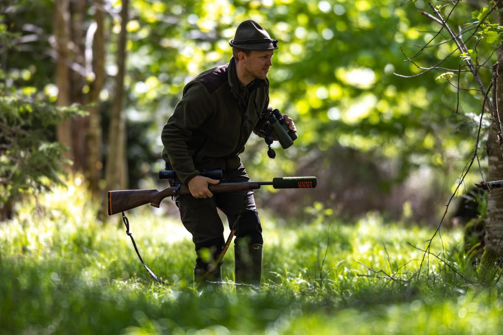 Jäger auf der Pirsch