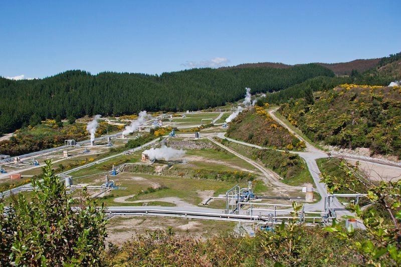 neuseeland, Geothermal Kraftwerk
