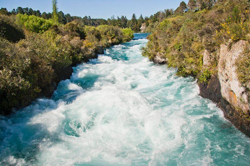 neuseeland, Huka Falls