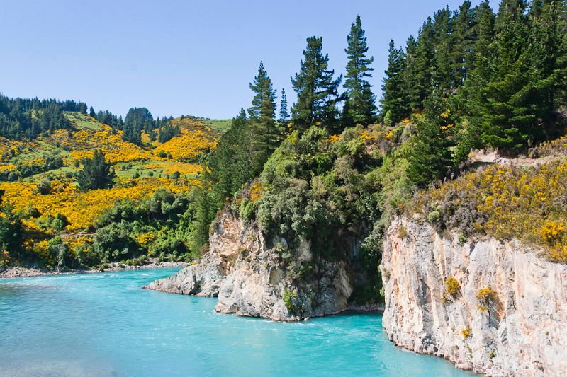 neuseeland, Inland Scenic Route