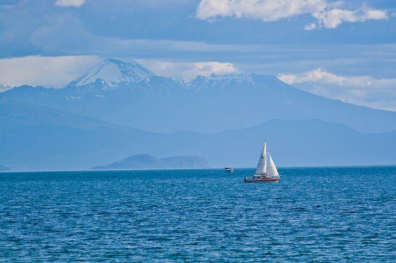 neuseeland, Lake Taupo