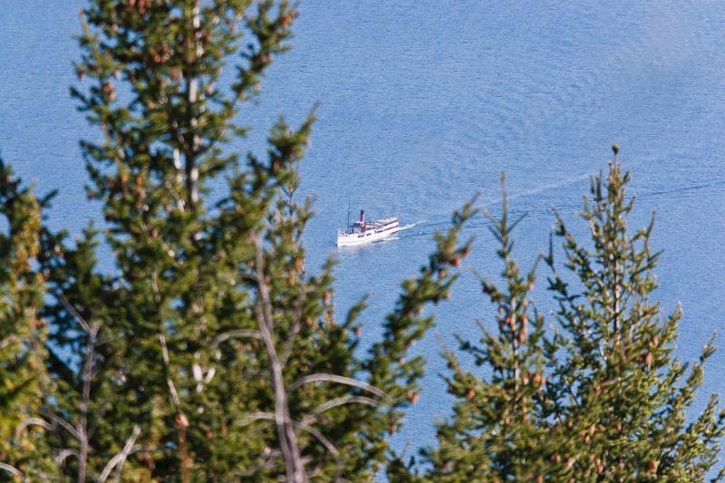 neuseeland, Lake Wakatipu TSS Earnslaw