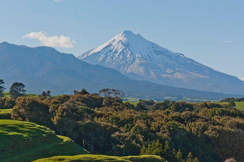 neuseeland, Mount Taranaki