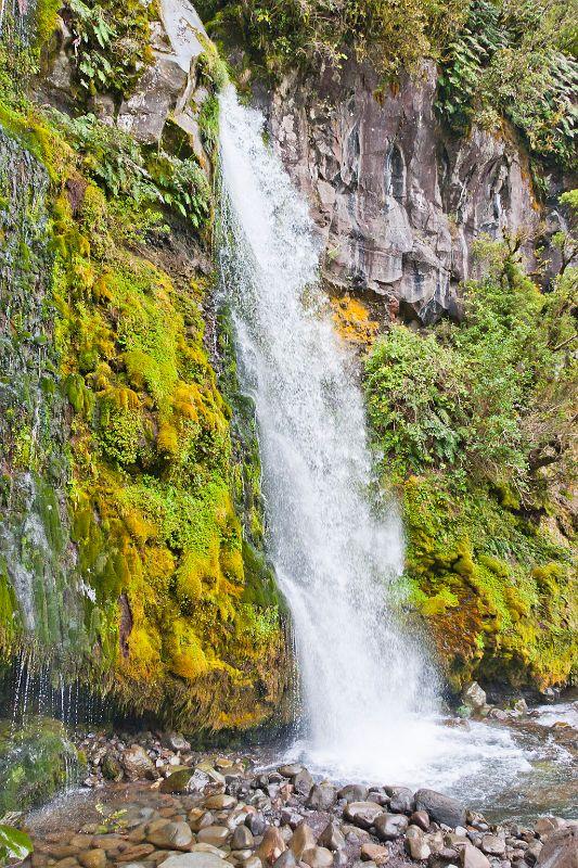 neuseeland, Wasserfall Mount Taranaki