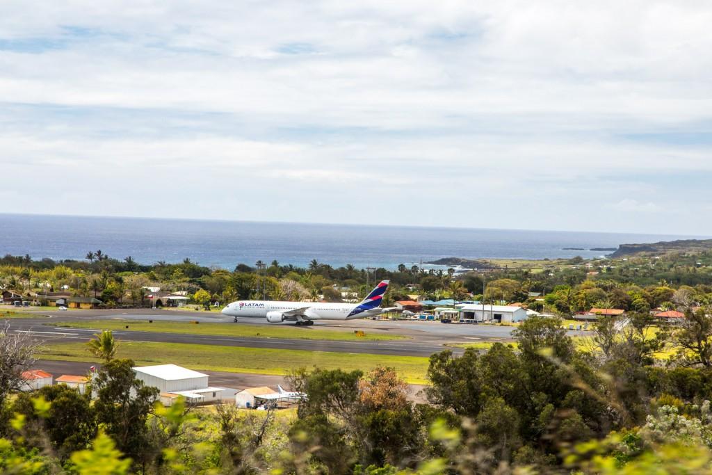 Osterinsel Flughafen