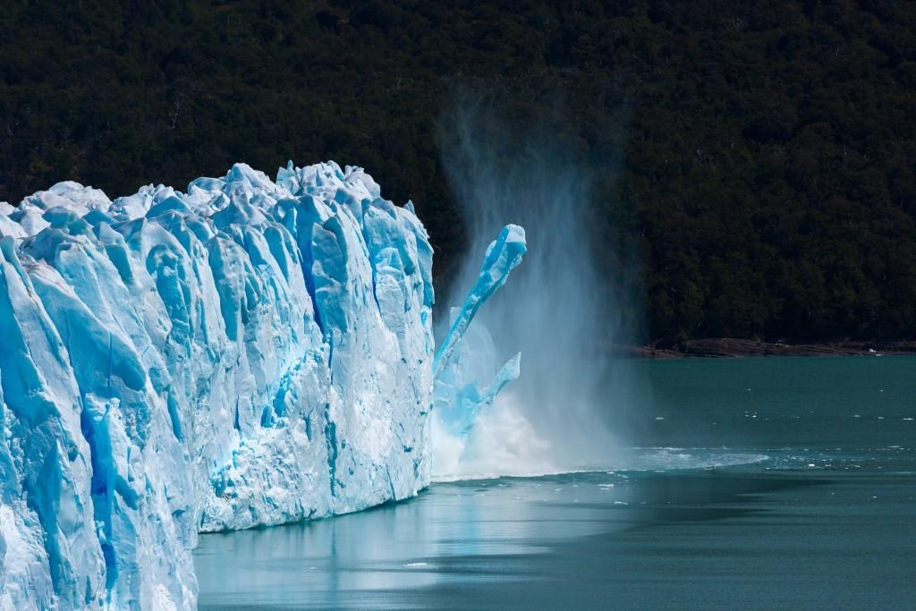 Eisbruch am Perito Moreno Gletscher