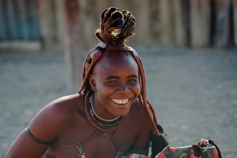 Himba Frau