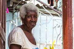 ältere Kubanerin