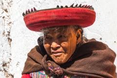 alte Peruanerin