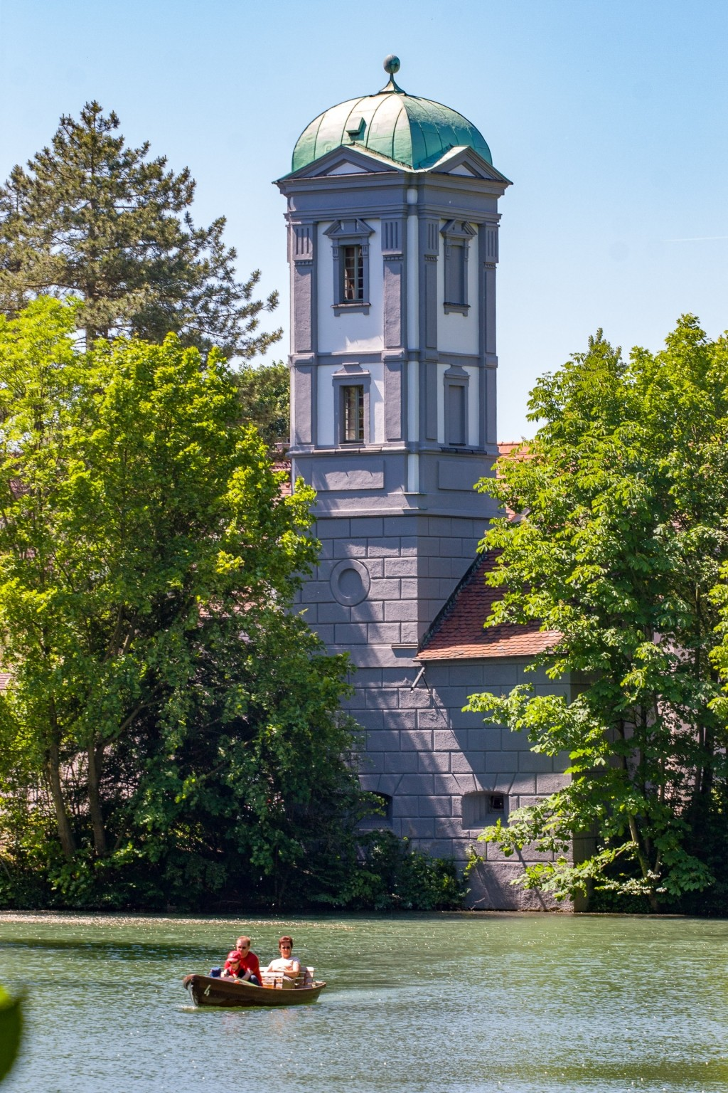 Wasserturm an der Kahnfahrt