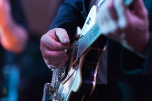 E Gitarre Spieler